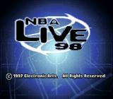 NBA Live 98 SNES Scene from the intro