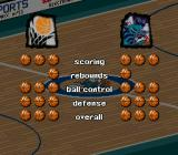 NBA Live 98 SNES Team comparison - from balls ('95) to stars ('96) to balls again