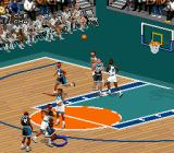 NBA Live 98 SNES The sprites are not as tiny as in previous installments.