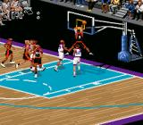 NBA Live 98 SNES Powerful dunk!