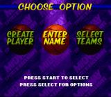 NBA Hang Time SNES Main menu