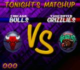 NBA Hang Time SNES Bulls vs. Grizzlies