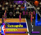 NBA Hang Time SNES Tied game