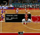 NBA Showdown SNES Fouls are called by the referee - digitized voice samples too!