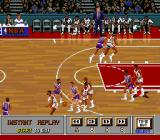 NBA Showdown SNES View an instant replay.