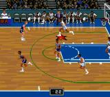 NBA Showdown SNES You control the player with the red star.