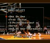 NBA All-Star Challenge SNES Several play modes - but all feel alike.