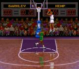NBA All-Star Challenge SNES Jumping for some points.