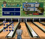 Super Bowling SNES So many pins, only 2 throws for par.