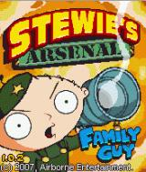 Family Guy: Stewie's Arsenal J2ME Title screen