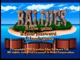 Baldies Jaguar Title Screen