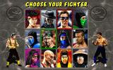 Mortal Kombat II DOS Choose your fighter