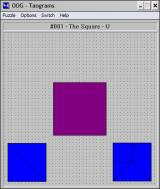 OOG: The Object Orientation Game Windows 3.x A Tamgram puzzle.