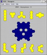 OOG: The Object Orientation Game Windows 3.x A Hexagons puzzle.