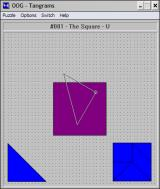 OOG: The Object Orientation Game Windows 3.x Rotating a piece to place it on the board.