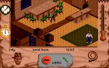 Indiana Jones and The Fate of Atlantis: The Action Game DOS Level 2 - In a building
