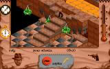 Indiana Jones and The Fate of Atlantis: The Action Game DOS Level 6 - Inner Atlantis!
