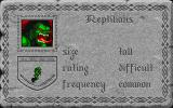 The Aethra Chronicles: Volume One - Celystra's Bane DOS A separate executable features a Bestiary of all the game's monsters as well as fallen heroes