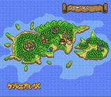 Mahōjin GuruGuru 2 SNES The map