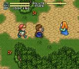 Mahōjin GuruGuru 2 SNES More enemies in the woods