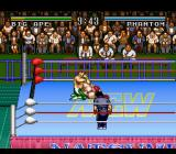Natsume Championship Wrestling SNES Sleeperhold