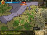 Europa Universalis III: Napoleon's Ambition Windows The Theatrum Orbis Terrarum mod gives the map a more map-like feel, here in terrain mode.