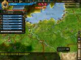 Europa Universalis III: Napoleon's Ambition Windows The terrain map over Prussia.