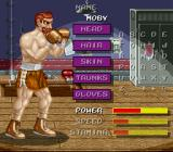 Riddick Bowe Boxing SNES Create your own boxer.