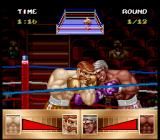 Riddick Bowe Boxing SNES Sticking the heads together