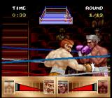 Riddick Bowe Boxing SNES Low punch