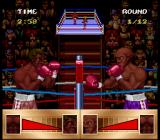 Riddick Bowe Boxing SNES Taunting gesture at the start