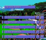 PGA European Tour SNES The leaderboard