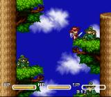 Popful Mail SNES In the tree tops
