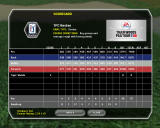 Tiger Woods PGA Tour 08 Windows Scorecard