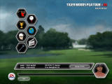 Tiger Woods PGA Tour 08 Windows Main menu