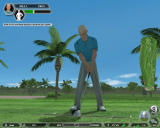 Tiger Woods PGA Tour 08 Windows Custom golfer practising.