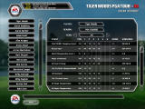 Tiger Woods PGA Tour 08 Windows Event history screen