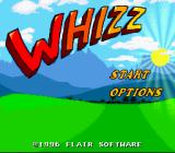 Whizz SNES Main menu