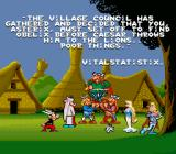 Astérix SNES Asterix is sent out to get him back.