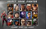 Mortal Kombat 3 DOS Select your fighter