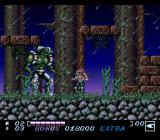 Wolfchild SNES Second boss