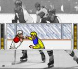 Super Slap Shot SNES A fight!
