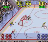 Super Slap Shot SNES Near the end of period one