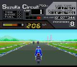 Suzuka 8 Hours SNES The start