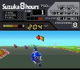 Suzuka 8 Hours SNES Going left.