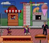 Bebe's Kids SNES There are only two enemies in the first level: men in black and mice men.