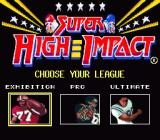 Super High Impact SNES Difficulty selection