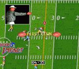 Super High Impact SNES And tackled for first down.