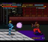 Street Combat SNES Sort of a fireball