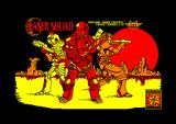 Laser Squad Amstrad CPC Title screen